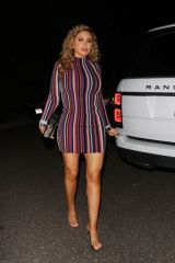 Larsa Pippen Arrives at Paris Hilton's house to celebrate her 39th birthday party in Los Angeles