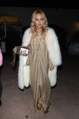 Rachel Zoe Leaving Paris Hilton's house after celebrating her 39th birthday party in Los Angeles
