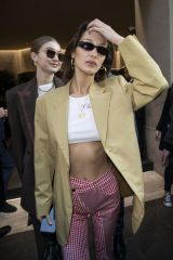 Bella Hadid Leaves her Hotel during Women's MFW 2020-21 in Milan