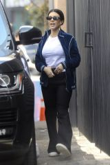 Kourtney Kardashian Goes out for brunch at Croft with friends in West Hollywood