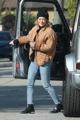 Hilary Duff At a friend's house in Studio City