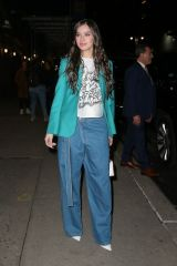 Hailee Steinfeld Leaving 'The Late Show with Stephen Colbert' in NYC