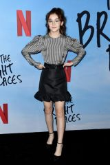 "Anna Cathcart At Netflix's ""All The Bright Places"" Premiere in Hollywood"