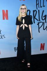 Elle Fanning At Special Screening of Netflix's 'All The Bright Places' in Hollywood