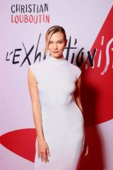 Karlie Kloss At L'Exibition[niste] by Christian Louboutin opening in Paris