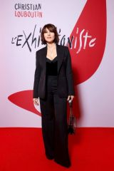 Monica Bellucci At L'Exibition[niste] by Christian Louboutin opening in Paris