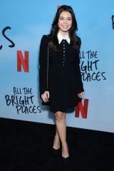 Auli'i Cravalho At Special Screening of Netflix's 'All The Bright Places' in Hollywood
