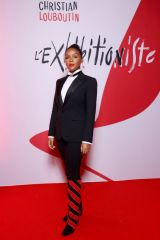 Janelle Monae At L'Exibition[niste] by Christian Louboutin opening in Paris