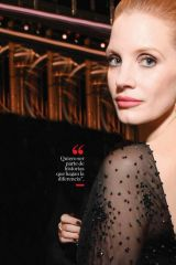 Jessica Chastain - Vanidades Magazine Mexico February 2020
