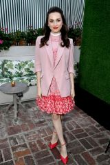 Maude Apatow At 'Hollywood' TV Mini Series Screening, San Vicente Bungalows, Los Angeles