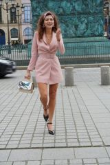 Blanca Blanco In Paris during PFW