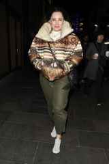 Kelly Brook Seen leaving Global Radio Studios in London