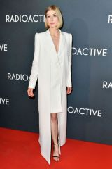 Rosamund Pike At Radioactive Premiere in Paris