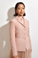 Liza Koshy At Dior show, Front Row, Fall Winter 2020, Paris Fashion Week, France