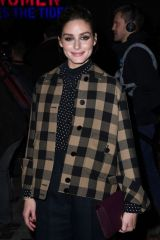 Olivia Palermo At Dior show, Front Row, Fall Winter 2020, Paris Fashion Week, France