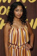 Maitreyi Ramakrishnan At 'I Am Not Okay with This' TV show premiere, Arrivals, The London, Los Angeles