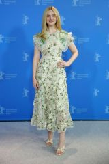 "Elle Fanning At ""The Roads Not Taken"" Photo Call - 70th Berlinale Film Festival"