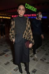 Olivia Palermo Attends the Dior show during Paris Fashion Week Womenswear Fall/Winter 2020/2021