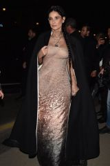 Demi Moore Arrives at the Harpers Bazaar fashion party in Paris