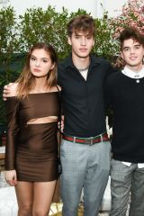 Brighton Sharbino At Betsey Johnson x Loren Gray Prom Collection Garden Party in West Hollywood