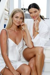 Renae Ayris and Brittany Hockley At Magnum Luxe Launch Event , Sydney