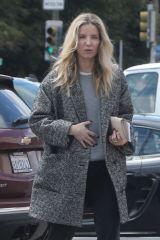 Chris Pine and Annabelle Wallis make a trip to their local market during quarantin in Los Feliz