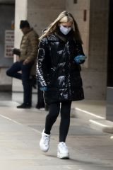Caprice Out for shopping in London