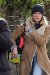 Cressida Bonas Spotted out in the spring sunshine of Notting Hill