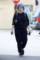 Kelly Osbourne Grabs take out lunch with brother Jack's girlfriend