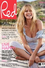 Heidi Klum - Red UK by Robert Erdmann - May 2020