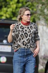 Michelle Pfeiffer Out in Pacific Palisades