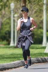 Reese Witherspoon Out jogging in LA