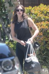 Katharine McPhee Getting ready to run errands in Los Angeles