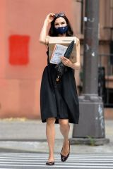 Famke Janssen Out in NYC