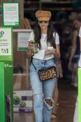 Michelle Keegan Leaving Pets at Home Pet store in Essex