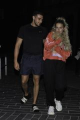 Molly Mae Hague Seen with her boyfriend in Manchester