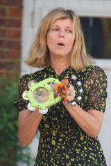 Kate Garraway Seen outside her home in London