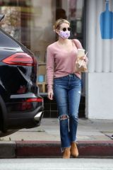 Emma Roberts Seen in Los Angeles