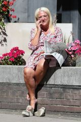 Vanessa Feltz Out and about, London