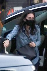 Courteney Cox Arriving at Nobu in Malibu