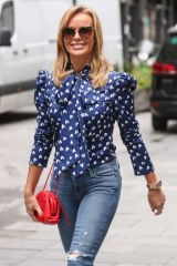 Amanda Holden Leaving Global Studios in London