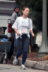 Olivia Wilde Is pictured out and about with family in Los Angeles