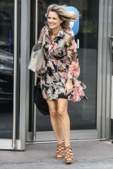 Charlotte Hawkins At Global Radio in London