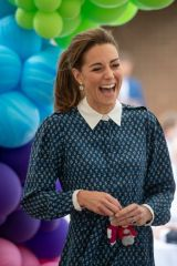 Catherine Duchess of Cambridge Visits the Queen Elizabeth Hospital as part of the NHS birthday celebrations in King's Lynn, Norfolk