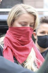 Amber Heard Going to court in London
