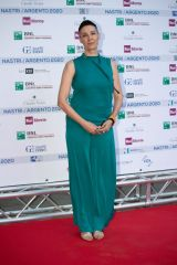Claudia Catani At Nastri D'Argento Awards, Rome, Italy