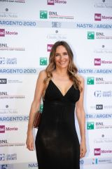 Emanuela Rossi At Nastri D'Argento Awards, Rome, Italy