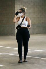 Bebe Rexha Goes grocery shopping at Whole Foods in Los Angeles