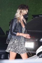 Malin Akerman Out at dinner in Malibu