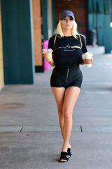 Courtney Stodden Seen out in Hollywood